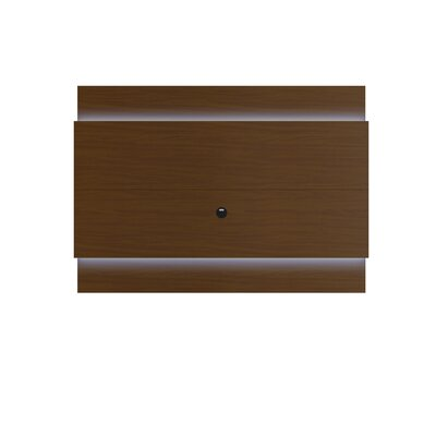 Franklin 77-95 TV Stand Color: Nut Brown, Width of TV Stand: 53.22 H x 86.77 W x 3.22 D