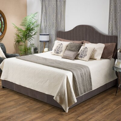 Galatia Upholstered Panel Bed Size: King