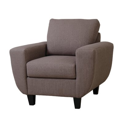 Serta Upholstery Shane Arm Chair Upholstery: Stallion Apple