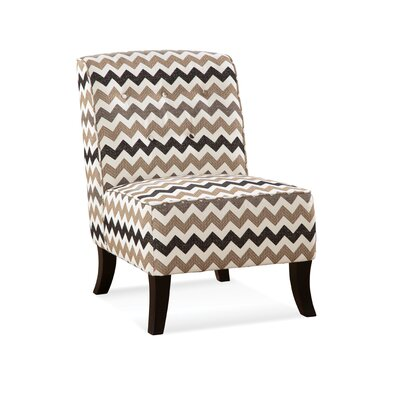 Serta Upholstery Amalia Slipper Chair Upholstery: Coast Almond