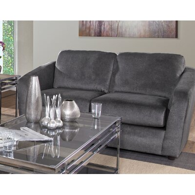 Serta Upholstery Zayne Loveseat Upholstery: Pebble Grey