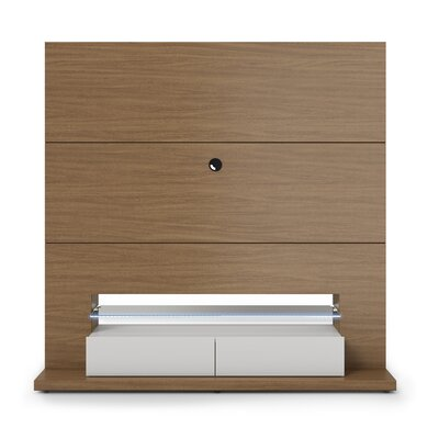 Holden Entertainment Center Color: Nature / Off White