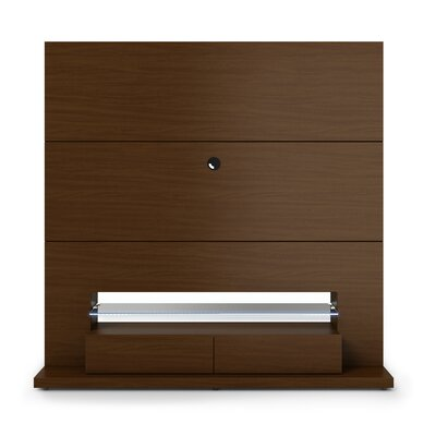 Holden Entertainment Center Color: Nut Brown