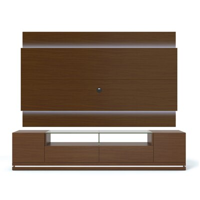 Lasker 85 TV Stand Color: Nut Brown