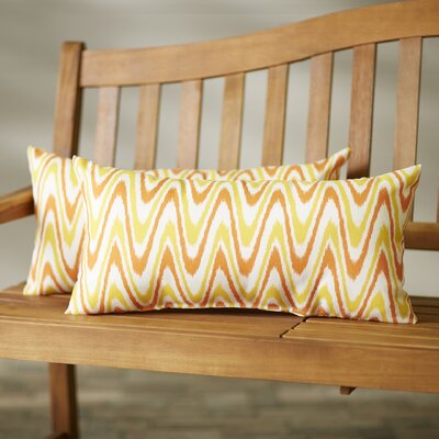 Merauke Indoor/Outdoor Lumbar Pillow Size: 12x24