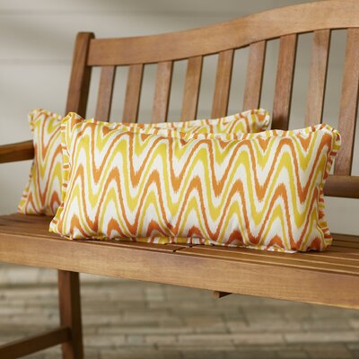 Augusta Indoor/Outdoor Lumbar Pillow Size: 12 x 24
