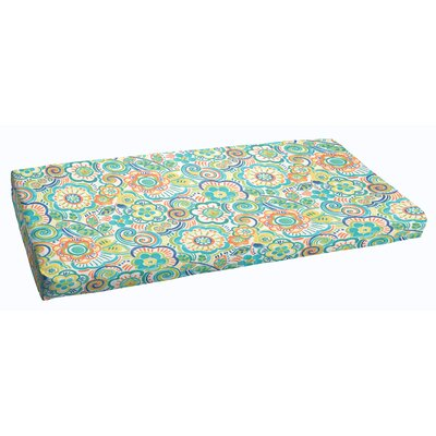 Beatrice Outdoor Bench Cushion Size: 48 x 19