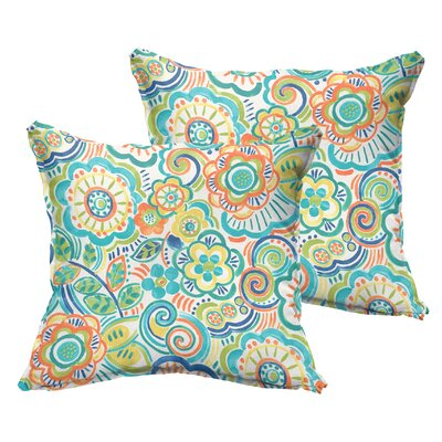 Beatrice Indoor/Outdoor Throw Pillow Size: 20 x 20