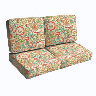 Annette Outdoor Loveseat Cushion