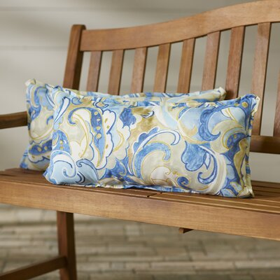 Betty Indoor/Outdoor Lumbar Pillow Size: 13 H x 20 W