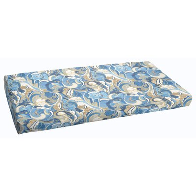 Betty Outdoor Bench Cushion Size: 60 x 19
