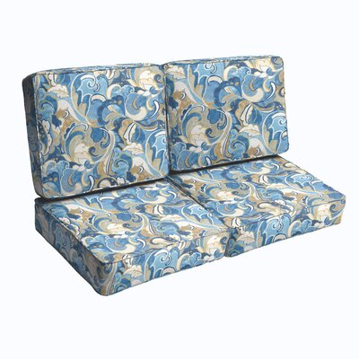 Betty Outdoor Loveseat Cushion
