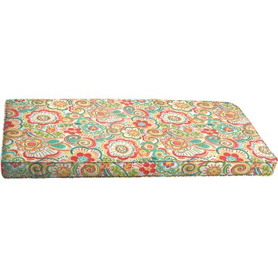 Annette Outdoor Bench Cushion Size: 60 x 19