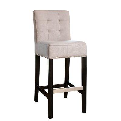 Kilpatrick 30 Bar Stool Upholstery: Beige