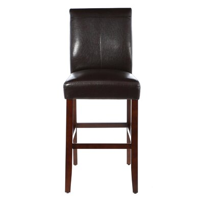 Annie 30 Bar Stool (Set of 2) Upholstery: Brown