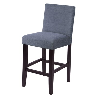 Oliver 26 Bar Stool Upholstery: Smokey Blue