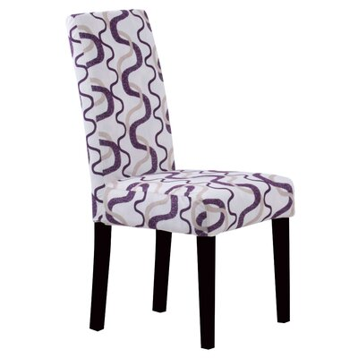 Swarthout Parsons Chair Upholstery: Berry