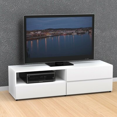 Britt TV Stand Finish: White