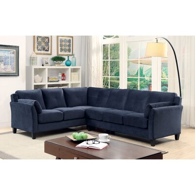 Patty Sectional Upholstery: Navy