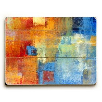 Colorful Haze Wall Art Size: 12