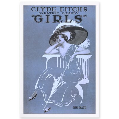 Girls III Framed Painting Print Size: 24