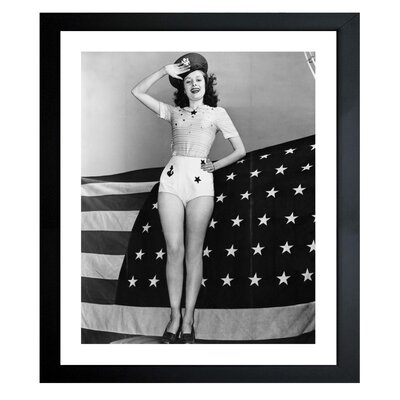 American Beauty Framed Photographic Print
