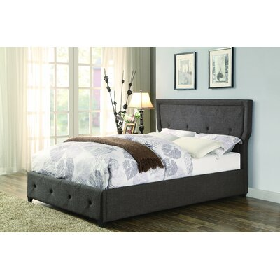 Caroline Upholstered Platform Bed Size: King