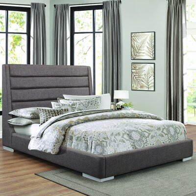 Carolyn Upholstered Platform Bed Size: King