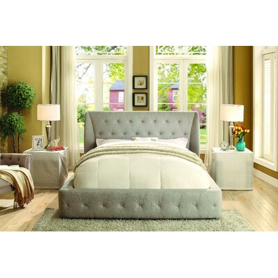 Casey Upholstered Platform Bed Size: Full