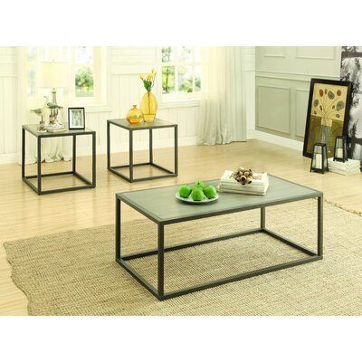 Cassie 3 Piece Coffee Table Set