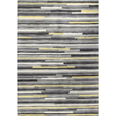 Baliny Hand-Tufted Ash Area Rug