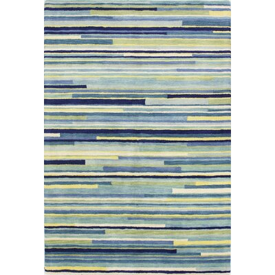 Baliny Hand-Tufted Blue Area Rug