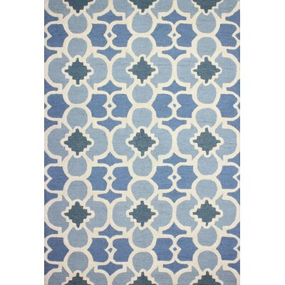 Bantice Hand-Tufted Light Blue Area Rug Rug Size: 8 x 11