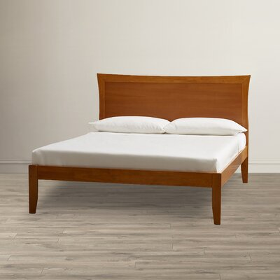 Amy Platform Bed Size: Queen, Finish: Caramel Latte