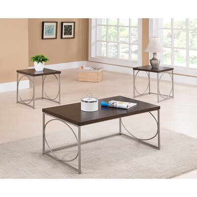 Ronan 3 Piece Coffee Table Set