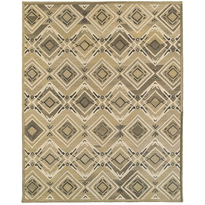 Cecelia Hand-Crafted Brown Area Rug Rug Size: 5 x 79