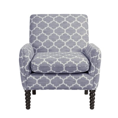 Celina Split Armchair Color: Gray