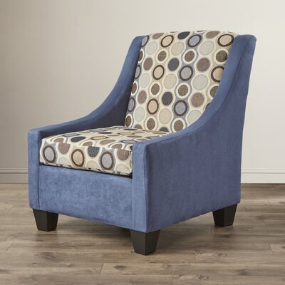 Belinda Armchair Color: Navy