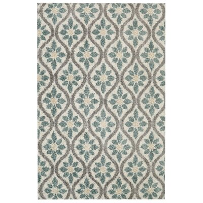 Brano Green Indoor Area Rug Rug Size: 8 x 10