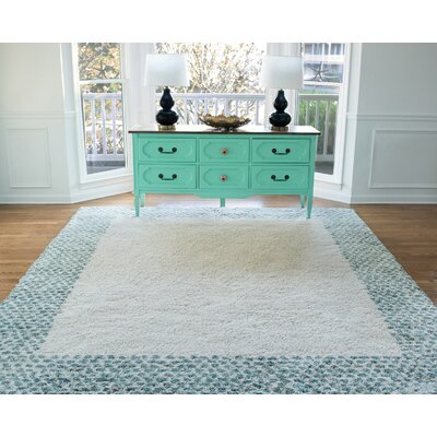 Brano Green Area Rug Rug Size: Rectangle 8 x 10