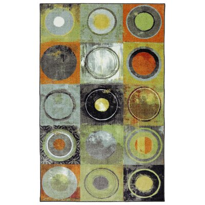 York Yellow Area Rug Rug Size: 8 x 11