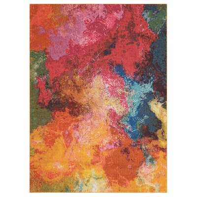 Abertamy Area Rug Rug Size: Rectangle 710 x 106