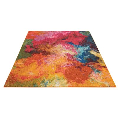 Abertamy Area Rug Rug Size: Rectangle 53 x 73