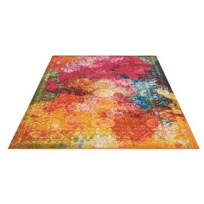Abertamy Seaglass Area Rug Rug Size: Rectangle 53 x 73