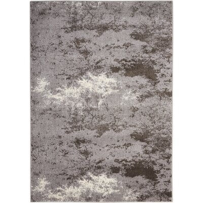 Alojzov Gray Area Rug Rug Size: 311 x 511