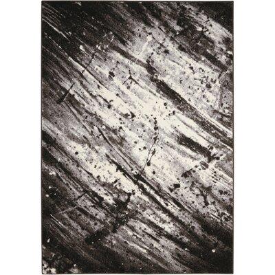 Alojzov Ivory/Gray Area Rug Rug Size: 710 x 106