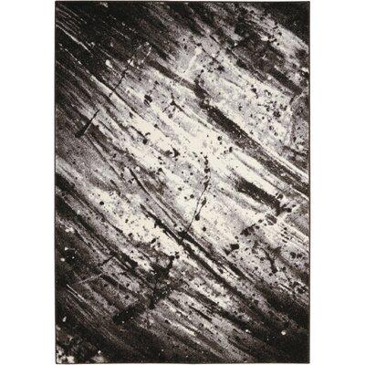 Alojzov Ivory/Gray Area Rug Rug Size: 311 x 511