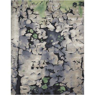 Annan Handmade Charcoal Area Rug Rug Size: 86 x 116