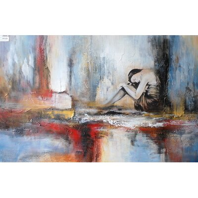 Abstract Painting on Canvas LTRN4924 30596637