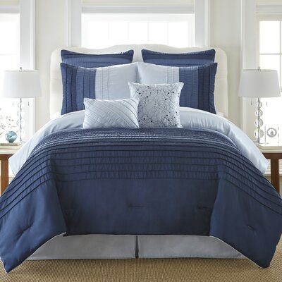 Bouzov 8 Piece Comforter Set Size: California King